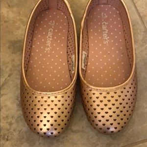 Carter's - Rose Gold Flat brand new, size 13